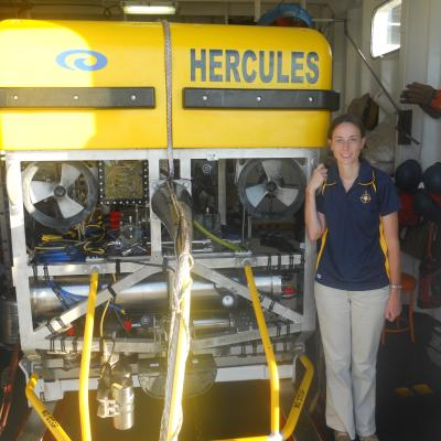 Hercules ROV and Susie, Educator at Sea