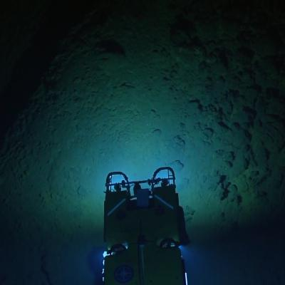 ROV Hercules seen from above