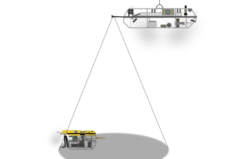 Graphic of two ROVs beside one another