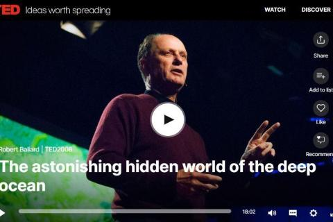 Robert Ballard TED Talk