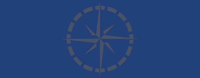 Placeholder image with compass rose