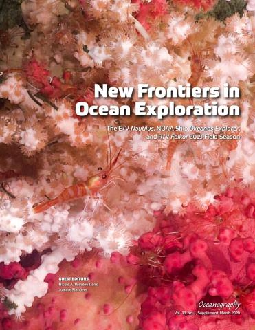 2020 Oceanography Supplement cover image