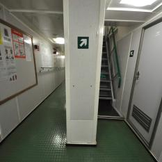 Passageway & Stairs to the Upper Deck