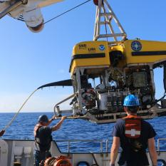 Launching Hercules for Deep Sea Discoveries