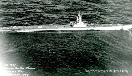 USS Bugara historical photo