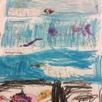 Student work example for Ocean Zone lesson